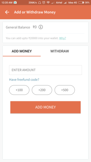 Freecharge Payment System