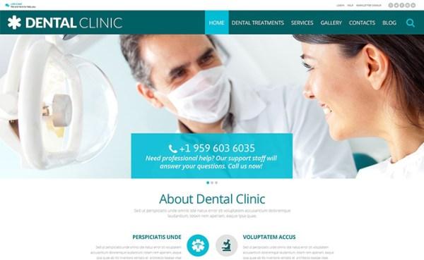 Dental Clinic WordPress Theme