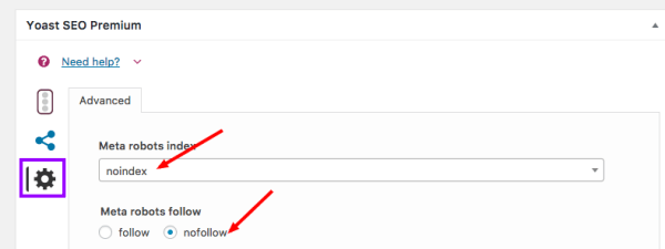 fix google index coverage issues Yoast Setting