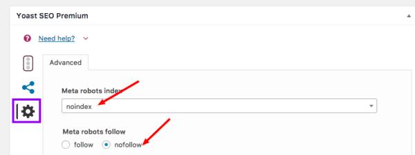 fix google index coverage issues Yoast Setting