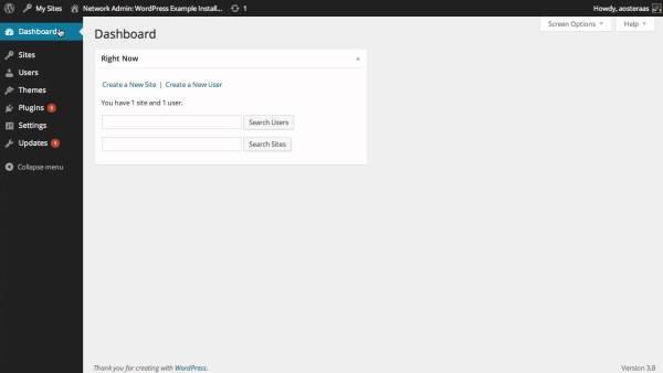 Wordpress Multiuser