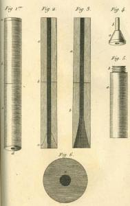 antico stetoscopio in legno realizzato da Laennec