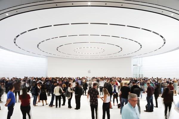 Apple Keynote di Settembre 2018 presso lo Steve Jobs Theater