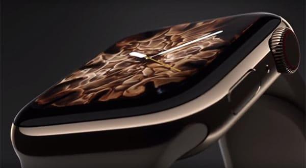 Nuovo desing per l'Apple Watch 4