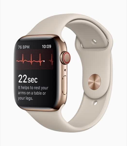 Apple Watch Series 4 Con ECG Elettrocardiogramma Digitale