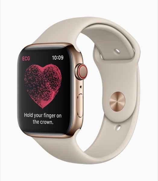 Apple Watch Series 4 App Indica Procedura per ECG