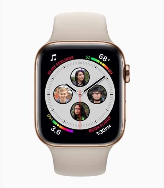 Apple Watch Series 4 Con Schermo 30% Più Spazioso
