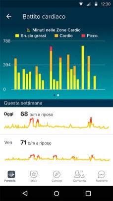 Fitbit Zone Cardio