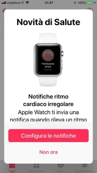 Configura le Notifiche di Ritmo Cardiaco Irregolare su Apple Watch
