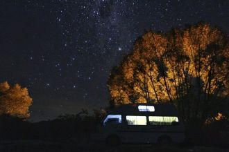 Noche estrellada (Nueva Zelanda)