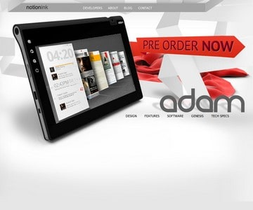 Notion Ink Adam Tablet PC