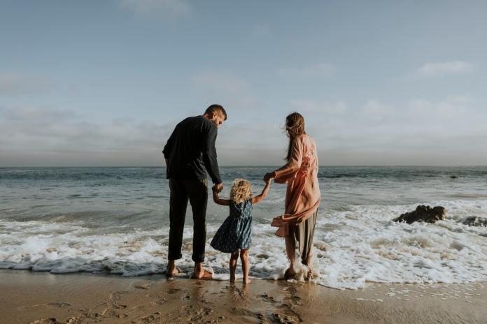 familie strand