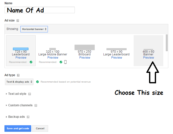 Use Hosted Adsense account On Custom Domain