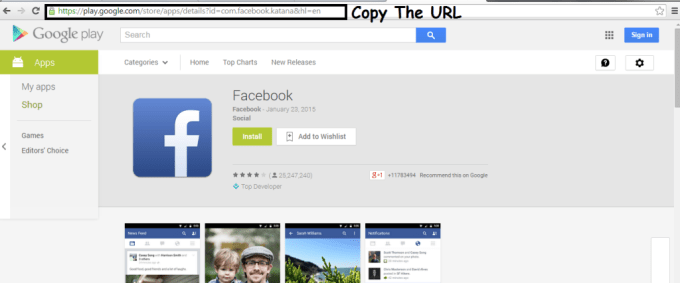 Download android Application Directly To PC