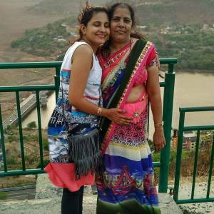 With My Mother