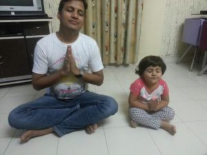 Yoga Day With Angel