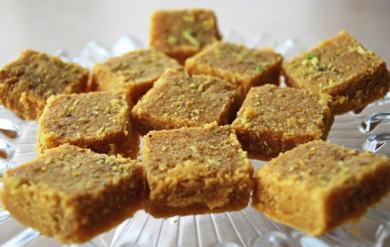 BURFI USING BREAD