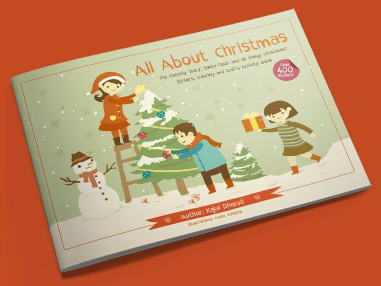 All about Christmas book front cover