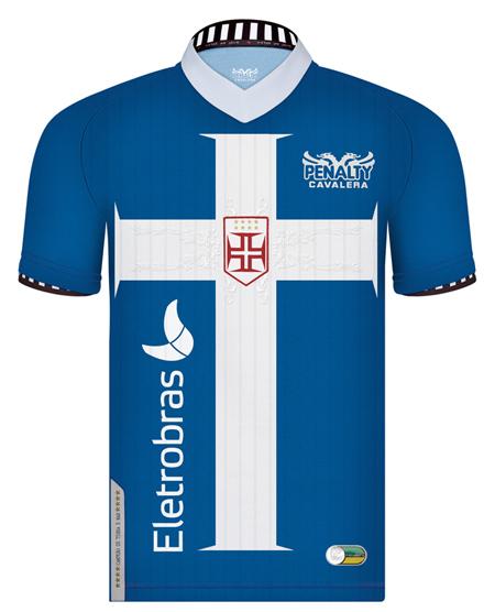 Vasco lança novo uniforme na cor azul - Zeca Soares 4d3a5c8d74175
