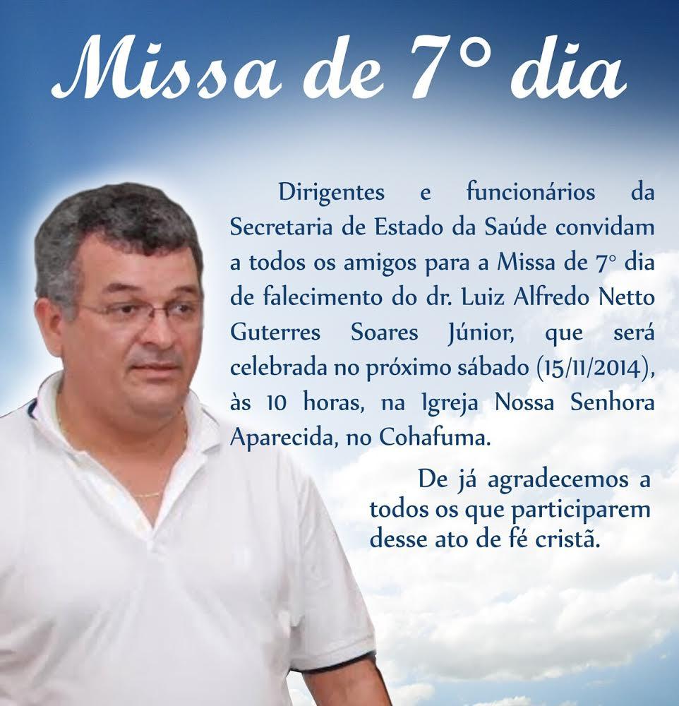 Missa De Luiz Alfredo Zeca Soares