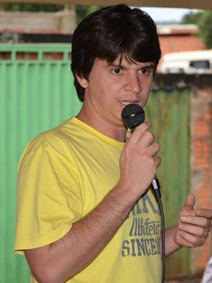 Prefeito de Nova Colinas Elano Coelho (PRB)