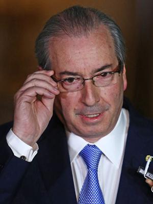 Eduardo Cunha, presidente afastado da Câmara