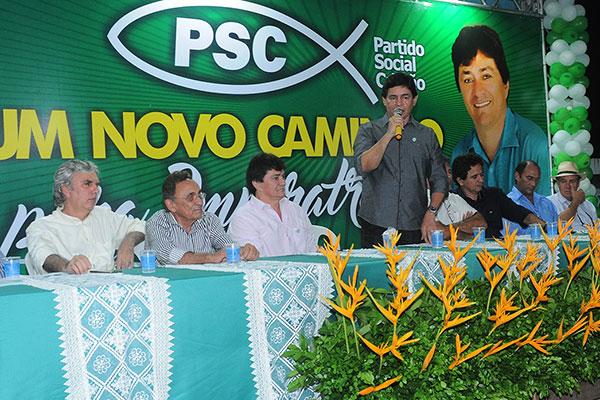 Empresário Ribinha Cunha, irmão do deputado estadual Léo Cunnha é pré-candidato em Imperatriz