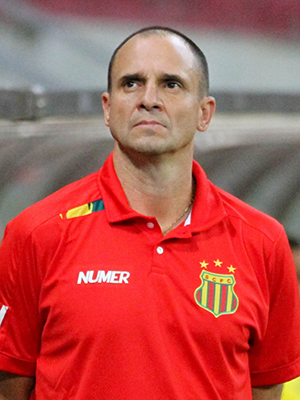 Técnico do Sampaio Vágner Lopes