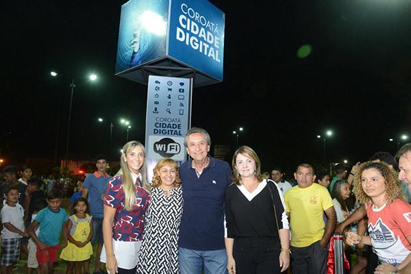 Deputada Andrea Murad participa de inaugurações em Coroatá e do lançamento da