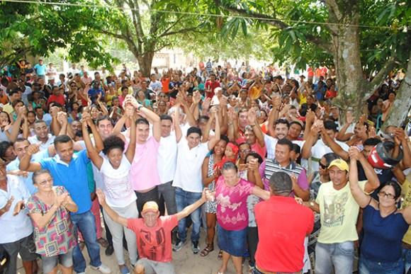 Beto Pixuta comanda o maior grupo político da história de Matinha e que é formado, até o momento, por onze partidos