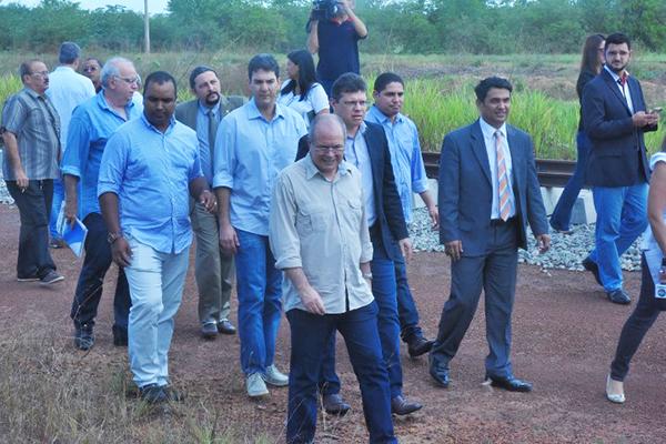 Deputados federais e estaduais do Maranhão fazem nova vistoria na obra de duplicação da BR-135