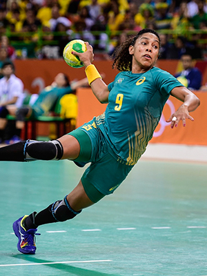 Maranhense Ana Paula brilha na Olimpíada