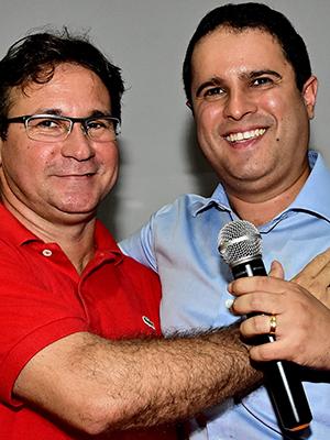 Julio Pinheiro e Edivaldo Holanda Júnior