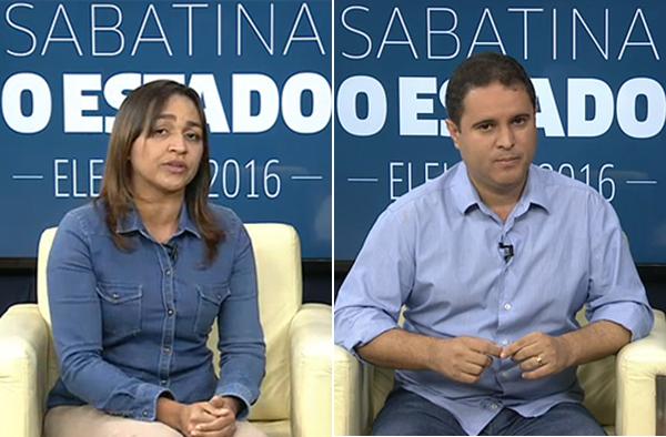 Eliziane Gama e Edivaldo Holanda Júnior participam de sabatina de O Estado