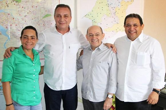 Jota Pinto abre mão de pré-candidatura em São José de Ribamar e oficializa apoio a Luis Fernando