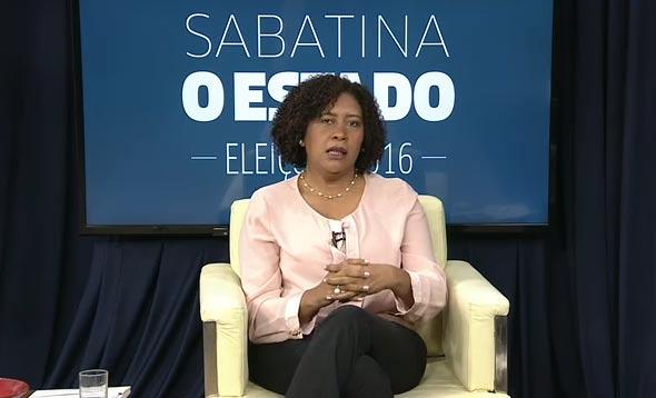 Candidata do PMB abre a sabatina de O Estado com os candidatos à Prefeitura de São Luís
