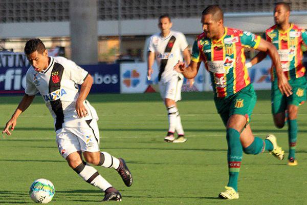 Sampaio empata com o Vasco por 1 a 1, em Cariacica, no Espírito Santo pelo Campeonato Brasileiro Série B