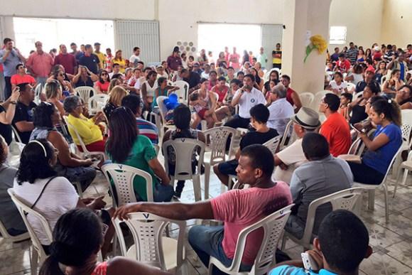 Wellington participa de rodada de encontros e reúne 1.600 pessoas em três bairros