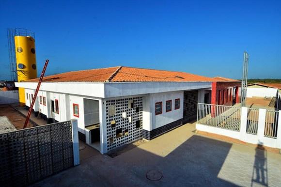 Creche da rede municipal em fase de conclusão no Residencial Morada do Sol