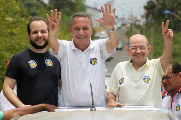 Luís Fernando Silva e EUdes Sampaio são candidatos únicos a prefeito e vice em São José de Ribamar