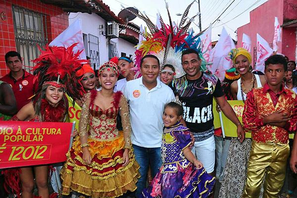 Candidato a vereador Raimundo Penha realiza Caminhada da Cultura