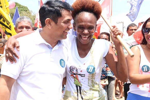 Wellington visita bairros e recebe apoio de moradores no São Raimundo, Aurora e São Cristovão