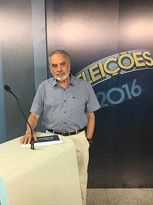 Jornalista Tonico Ferreira será o mediador