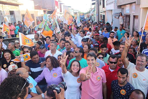 Carreata e caminhadas marcam o fim de semana da campanha de Eduardo Braide