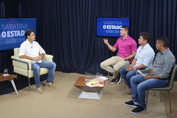 O candidato também aproveitou para agradecer a população que, para ele, fez história em São Luís