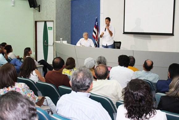 Candidato Eduardo Braide debate com médicos projetos para a saúde de São Luís