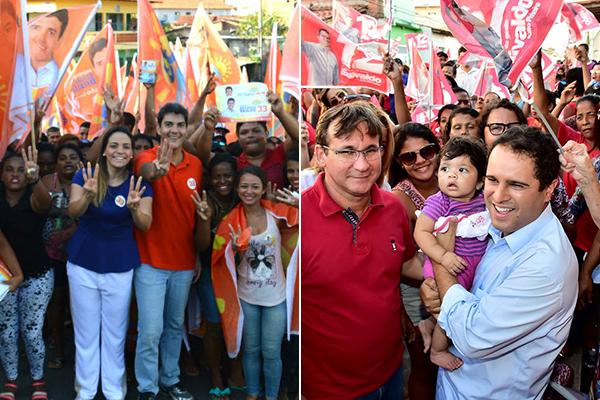 Eduardo Braide e Edivaldo Holanda Júnior estão tecnicamente empatados com 45%