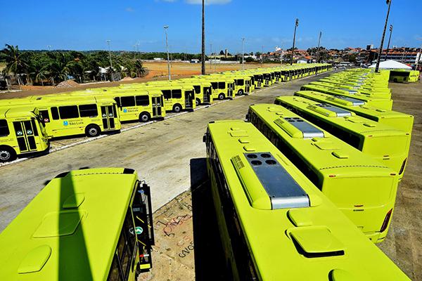 66 novos ônibus com ar-condicionado reforçam o sistema de transporte de São Luís