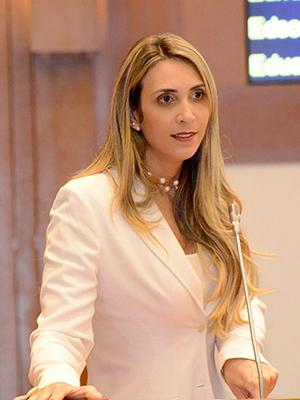 Deputada estadual Andrea Murad
