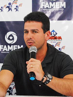 Presidente da Famem Gil Cutrim